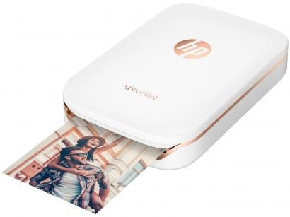 Impressora Fotográfica para Smartphone HP - Sprocket 100 Colorida Wi-Fi