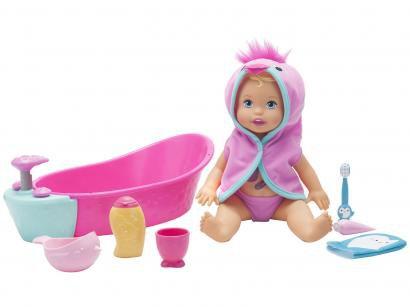 Boneca Little Mommy Brincadeira na Banheira - com Acessórios Mattel