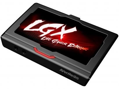 Placa de Captura de Vídeo AverMedia - Live Gamer Extreme GC550 Full HD 1080p