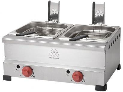 Fritadeira à Gás Industrial Marchesoni - FT.4.628 12L