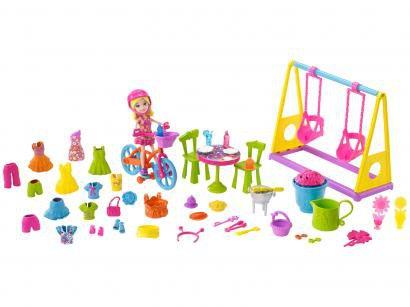 Boneca Polly Pocket Diversão no Jardim - com Acessórios Mattel