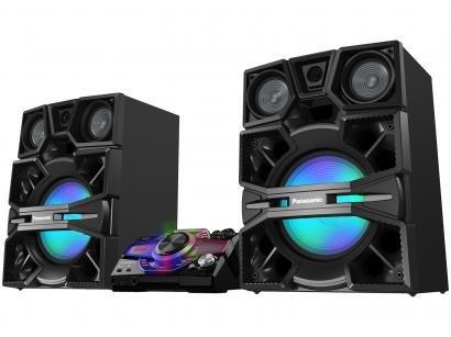 Mini System Panasonic Bluetooh USB MP3 CD Player - Rádio AM/FM 3300W...
