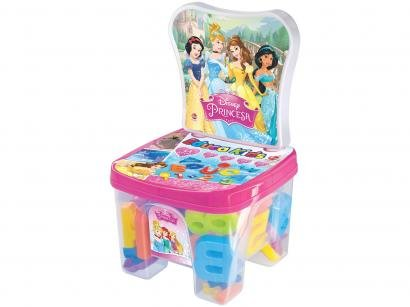Cadeira Baú Educa Kids Princesas com Acessórios - Líder Brinquedos