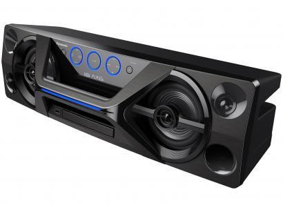 Mini System Panasonic Bluetooh USB MP3 CD Player - Rádio AM/FM 250W SC-UA3LB-K...