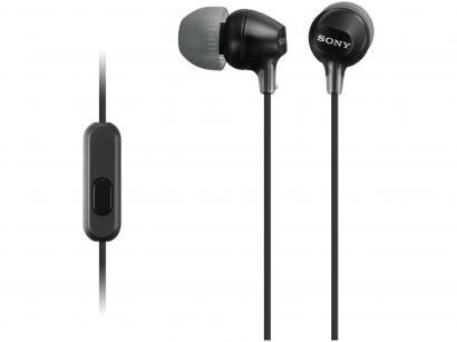 Fone de Ouvido intra auricular Sony - MDR-EX15AP