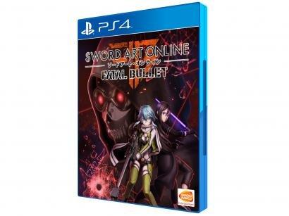 Sword Art Online: Fatal Bullet para PS4 - Bandai Namco