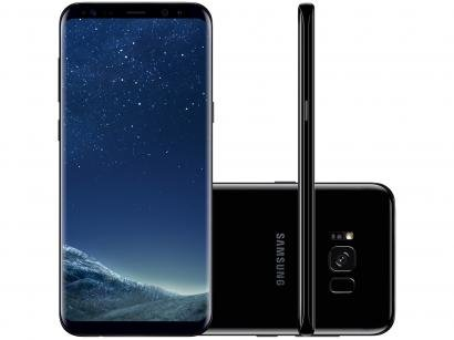 Smartphone Samsung Galaxy S8+ 64GB Preto Dual Chip - 4G Câm. 12MP + Selfie 8MP...