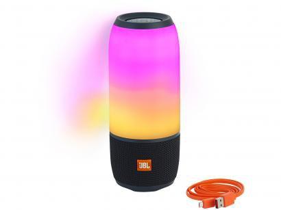 Caixa de Som Bluetooth Portátil JBL Pulse 3 - 20W Ativa USB com Microfone à...