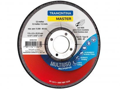 "Disco de Corte para Aço 4.1/2"" Tramontina - Master 42585004"