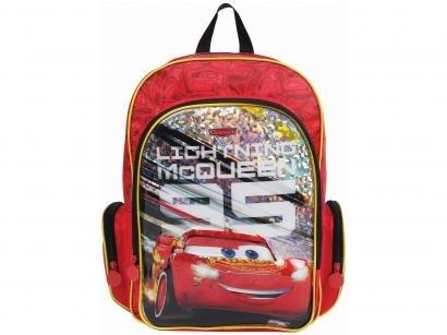 Mochila Infantil Escolar Tam. M Dermiwil - Disney Pixar Carros 3 Lightning...