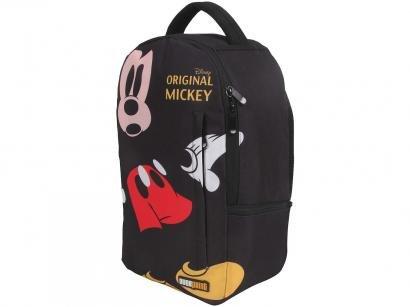 Mochila Infantil Escolar Tam. G Dermiwil - Overprint Mickey Mouse