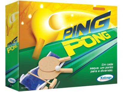 Kit Ping Pong 4 peças - Xalingo