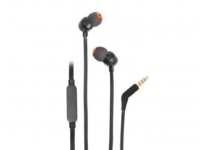 Fone de Ouvido Intra Auricular JBL - com Cabo P2 T110