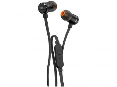 Fone de Ouvido Intra Auricular JBL com Microfone - e Kit Comunicação T290