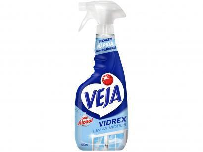 Veja Vidrex - Limpa Vidros Pulverizador - 500ml
