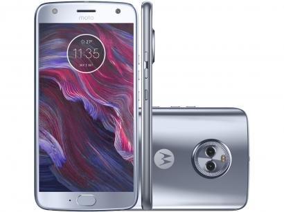 Smartphone Motorola Moto X4 32GB Azul Topázio - 4G Dual Câm. 12 MP + 8 MP +...