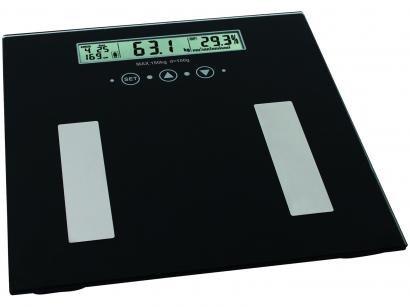 Balança Digital até 180kg com Medidor de Gordura - Relaxmedic Personal Fitness