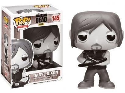 Boneco Colecionável Television The Walking Dead - Daryl Dixon 10,5cm Funko...