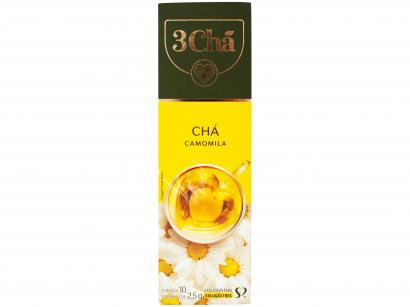 Cápsula de Chá 3 Corações Camomila TRES - 10 Unidades