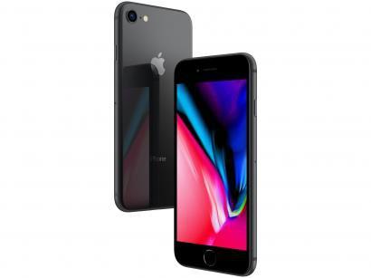 iPhone 8 Apple 64GB Cinza Espacial 4G Tela 4,7 - Retina Câm 12MP + Selfie 7MP...