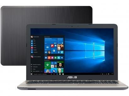 "Notebook Asus Vivobook Max X541NA - Intel Quad Core 4GB 500GB 15,6"" Windows 10"