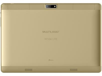 """Tablet Multilaser M10A Lite 8GB Tela 10"""" 3G - Wi-Fi Android 7.0 Proc. Quad Core..."""