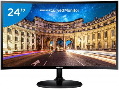 "Monitor Samsung LED Curvo 24"" - Full HD C24F390F"