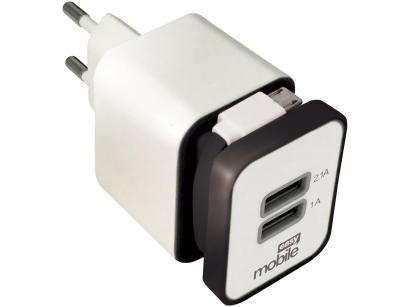 Carregador de Celular Universal Easy Mobile - Turbo Smart Branco
