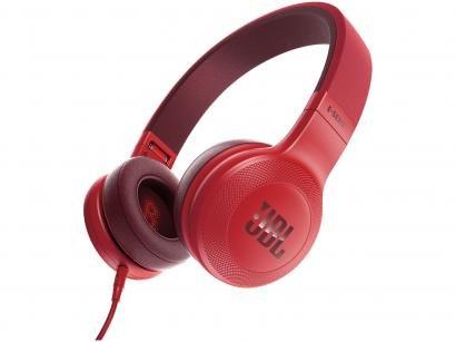 Headphone/Fone de Ouvido JBL Dobrável - com Kit Comunicação On Ear E35