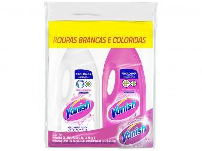 Alvejante Vanish Multiuso 1,5L + Alvejante Vanish - White 1,5L