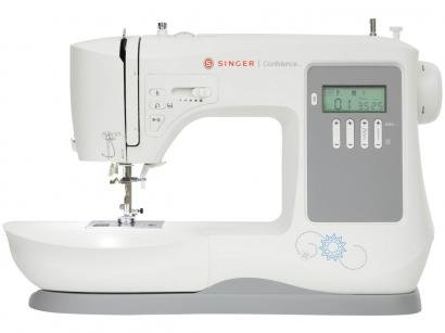 Máquina de Costura Singer Confidence 7640 - Eletrônica 131 Pontos Mesa Extensora