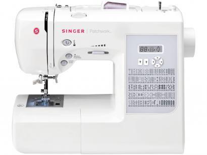 Máquina de Costura Singer Patchwork 7285 - Eletrônica 91 Pontos Mesa Extensora