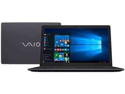 "Notebook Vaio Fit 15S Intel Core i3 4GB 1TB - 15,6"" Windows 10"
