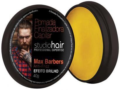 Pomada Modeladora Finalizadora de Cabelo - Nova Muriel Studio Hair Max Barbers...