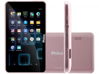 "Tablet Philco PTB7PA 8GB 7"" Wi-Fi Android 7.1 - Proc. Quad Core Câmera Integrada"