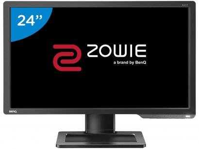 "Monitor Gamer Full HD BenQ Zowie LED Widescreen - 24"" Série XL XL2411P"