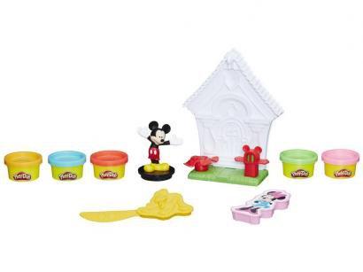 274e979f0b Massinha Play-Doh Disney Casinha Mágica Hasbro - com Acessórios