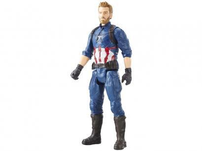 Boneco Capitão América Titan Hero Series - Marvel Avengers Guerra Infinita