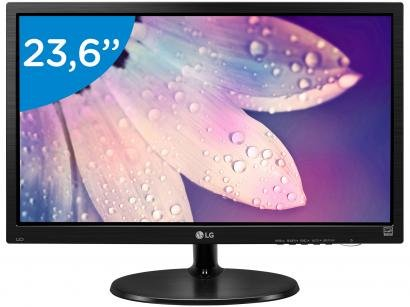 "Monitor LG LED 23,6"" Full HD Widescreen - 24M38H-B"