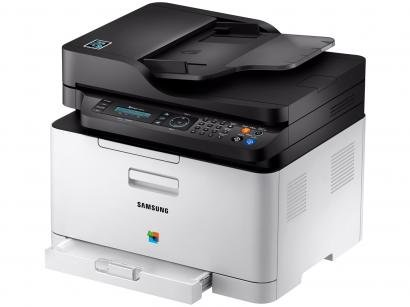 Impressora Multifuncional Samsung Xpress C480 - Laser Wi-fi Colorida USB NFC