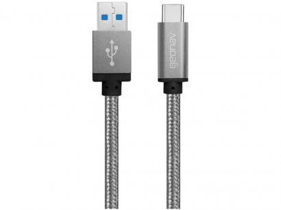Cabo Carregador Micro USB-C Geonav - UCC02
