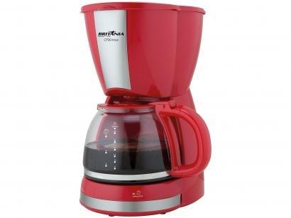 Cafeteira Elétrica Britânia CP30 30 Xícaras - Vermelho