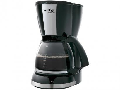 Cafeteira Elétrica Britânia CP38 Inox 38 Xícaras - Preto
