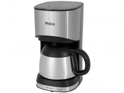 Cafeteira Elétrica Philco PH41 Thermo - 30 Xícaras Prata e Preto