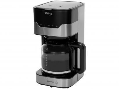 Cafeteira Elétrica Philco Platinum PCF38 - 38 Xícaras Prata e Preto