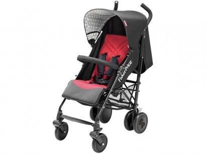 Carrinho de Bebê Passeio Fisher-Price Guarda-Chuva - Essential Reclinável para...