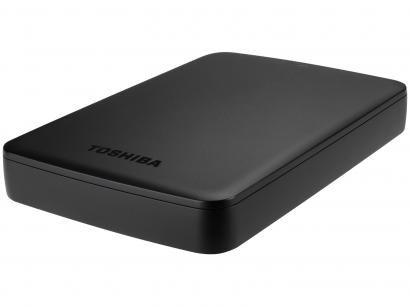 HD Externo 3TB Toshiba Canvio Basics - HDTB330XK3CA USB 3.0