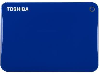 HD Externo 2TB Toshiba Canvio Connect II - HDTC820XL3C1 USB 3.0