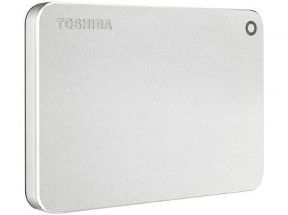 HD Externo 1TB Toshiba Cânvio Premium - HDTW110XCMAA I USB 3.0
