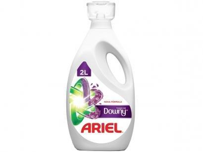 Sabão Líquido Ariel Concentrado Com Toque De Downy - 50 Lavagens 2L